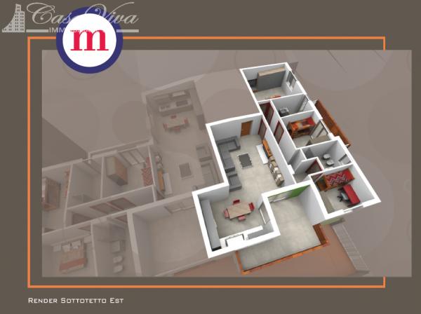 Appartamento in vendita a Lusciano, Centro, 100 mq - Foto 5