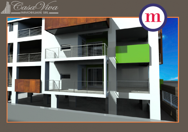 Appartamento in vendita a Lusciano, Centro, 100 mq - Foto 12