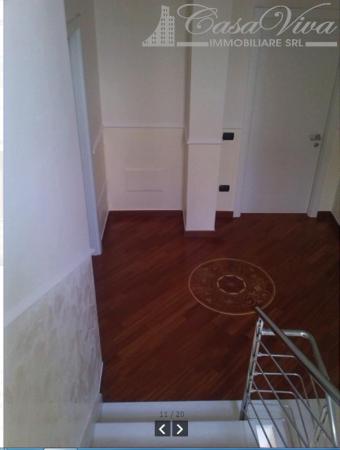 Villetta a schiera in vendita a Lusciano, Via Dell Alibertà, 420 mq - Foto 11