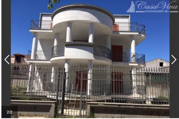 Villetta a schiera in vendita a Parete, Centro, Con giardino, 450 mq