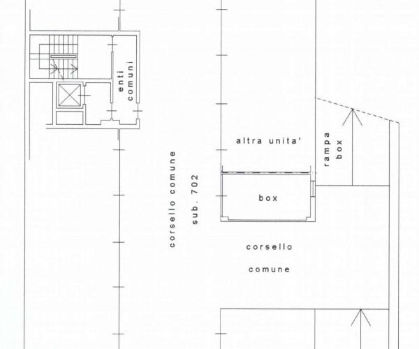 Appartamento in vendita a Milano, Viale Certosa Madonna Di Garegnano, Arredato, con giardino, 52 mq - Foto 2