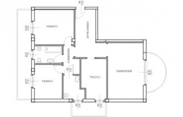 Appartamento in vendita a Gallarate, 110 mq - Foto 2