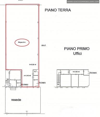 Capannone in vendita a Pisa, Ospedaletto, 340 mq