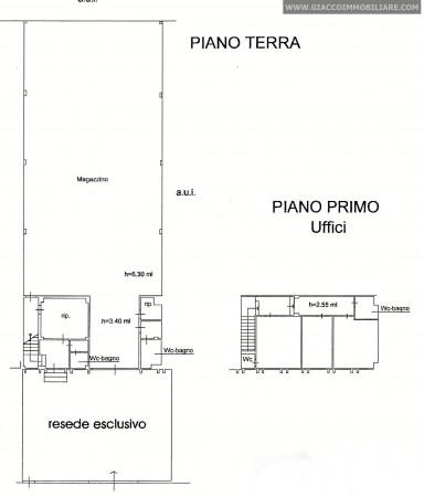Capannone in vendita a Pisa, Ospedaletto, Con giardino, 460 mq