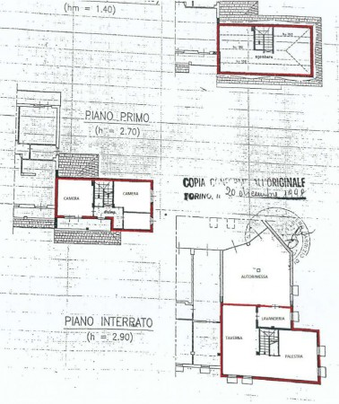 Villa in vendita a Alpignano, Centro, Con giardino, 237 mq - Foto 2