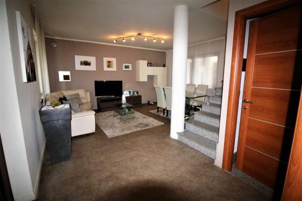 Villa in vendita a Alpignano, Centro, Con giardino, 237 mq - Foto 14