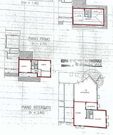 Villa in vendita a Alpignano, Centro, Con giardino, 237 mq - Foto 4
