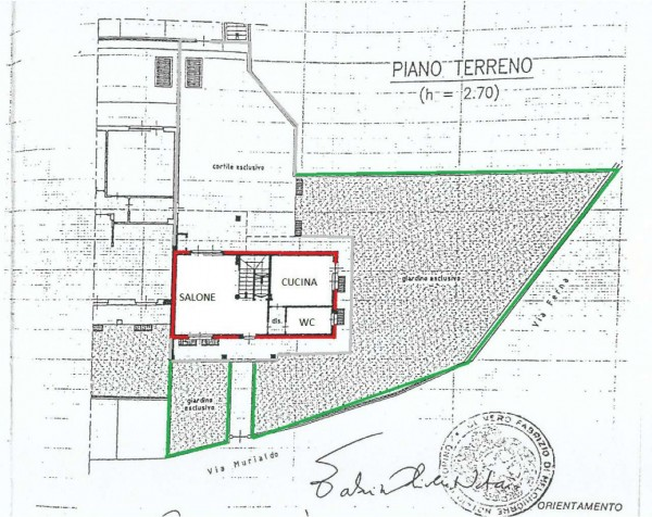 Villa in vendita a Alpignano, Centro, Con giardino, 237 mq - Foto 3