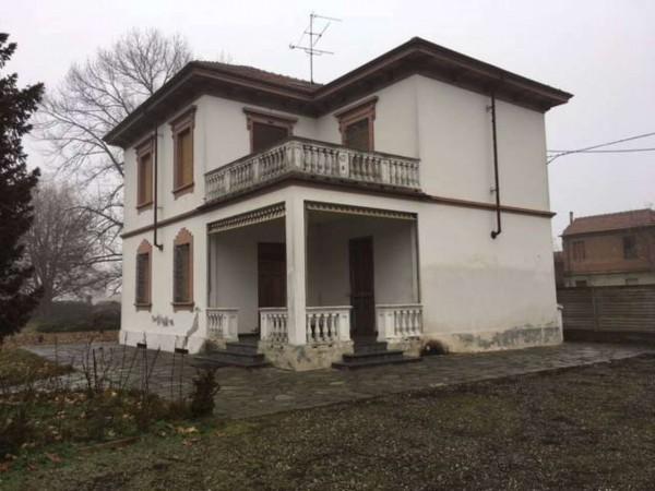 Villa in vendita a Alessandria, Con giardino, 160 mq