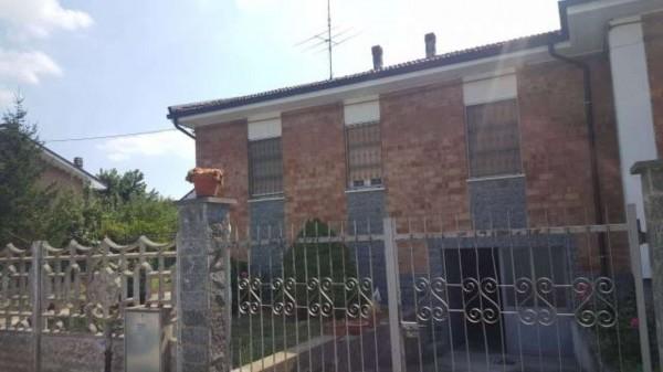 Villetta a schiera in vendita a Alessandria, Villa Del Foro, Con giardino, 80 mq