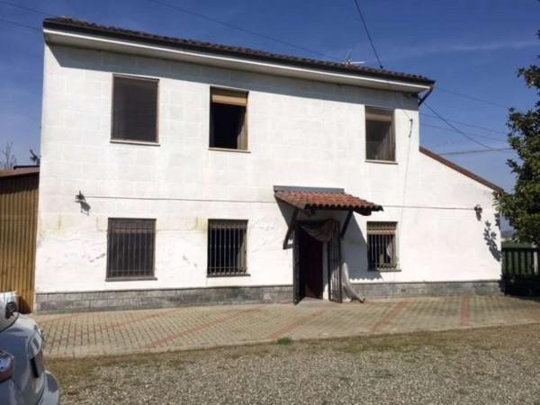 Villa in vendita a Alessandria, San Michele, Con giardino, 130 mq
