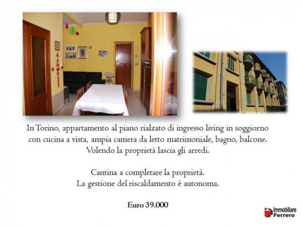 Appartamento in vendita a Torino, Torino, Arredato, 50 mq - Foto 2