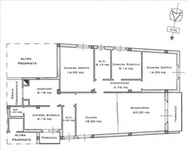 Appartamento in vendita a Siena, 130 mq - Foto 41