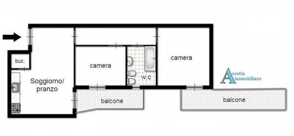 Appartamento in vendita a Taranto, Residenziale, 69 mq - Foto 2