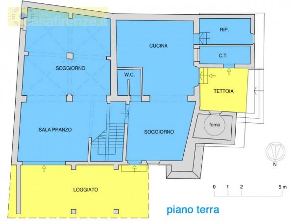 Rustico/Casale in vendita a Bagno a Ripoli, Con giardino, 330 mq - Foto 2