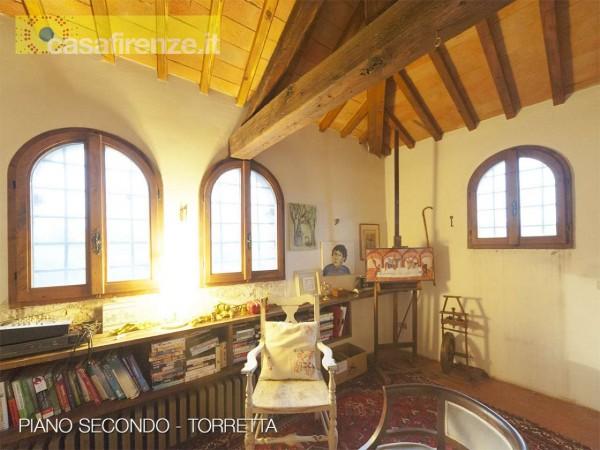 Rustico/Casale in vendita a Bagno a Ripoli, Con giardino, 330 mq - Foto 14