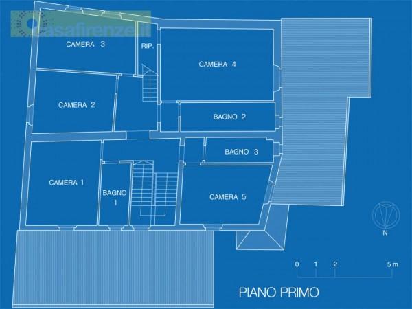 Rustico/Casale in vendita a Bagno a Ripoli, Con giardino, 330 mq - Foto 24