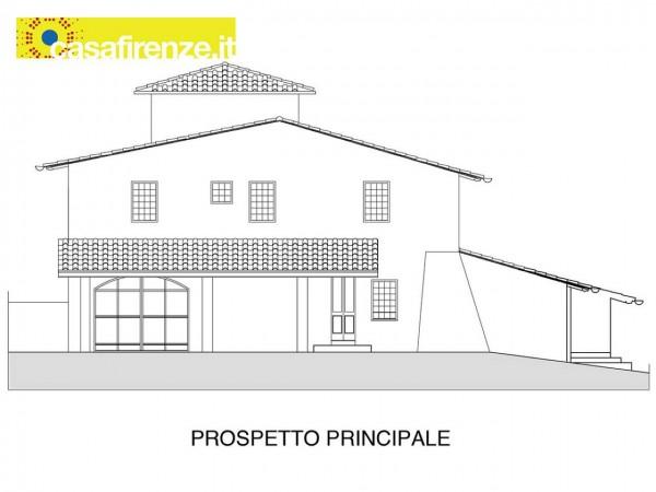Rustico/Casale in vendita a Bagno a Ripoli, Con giardino, 330 mq - Foto 5