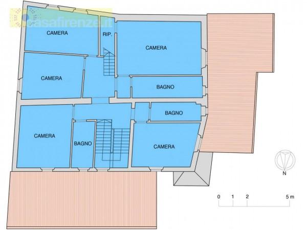 Rustico/Casale in vendita a Bagno a Ripoli, Con giardino, 330 mq - Foto 8