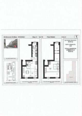 Appartamento in vendita a Milano, Con giardino, 58 mq - Foto 16