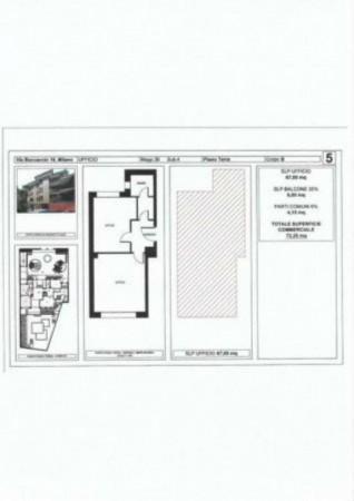 Appartamento in vendita a Milano, Cadorna, Con giardino, 73 mq - Foto 3