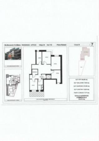 Appartamento in vendita a Milano, Cadorna, Con giardino, 123 mq - Foto 2