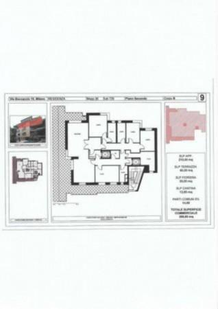 Appartamento in vendita a Milano, Cadorna, 258 mq - Foto 3