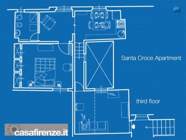 Appartamento in affitto a Firenze, Arredato, 60 mq - Foto 35