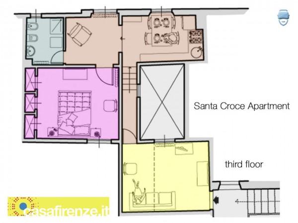 Appartamento in affitto a Firenze, Arredato, 60 mq - Foto 2