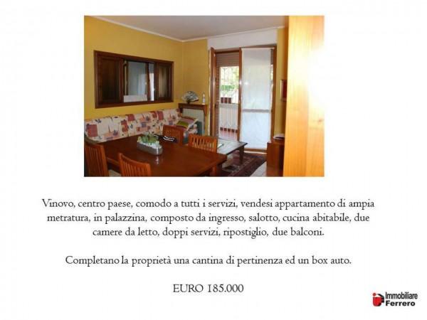 Appartamento in vendita a Vinovo, Centro Paese, Con giardino, 100 mq - Foto 2