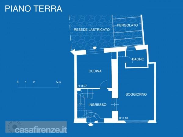 Appartamento in vendita a Firenze, Con giardino, 159 mq - Foto 43