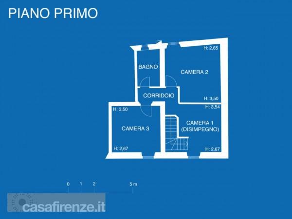Appartamento in vendita a Firenze, Con giardino, 159 mq - Foto 21