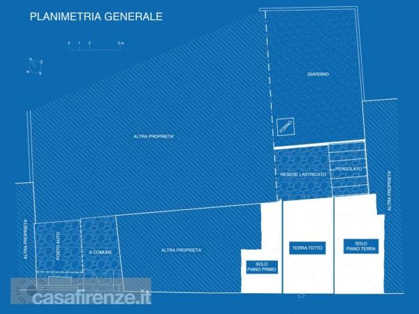 Appartamento in vendita a Firenze, Con giardino, 159 mq - Foto 31