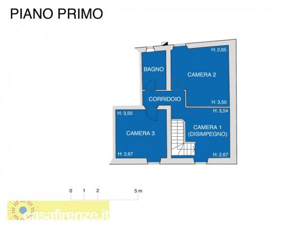 Appartamento in vendita a Firenze, Con giardino, 159 mq - Foto 2