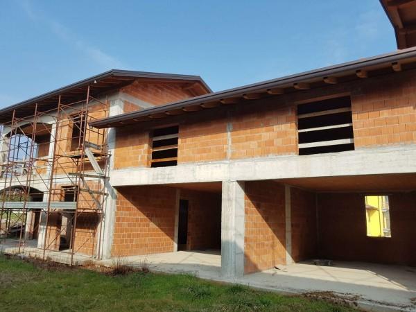 Villa in vendita a Carnago, Rovate, Con giardino, 181 mq - Foto 66