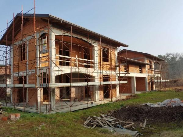 Villa in vendita a Carnago, Rovate, Con giardino, 181 mq - Foto 63