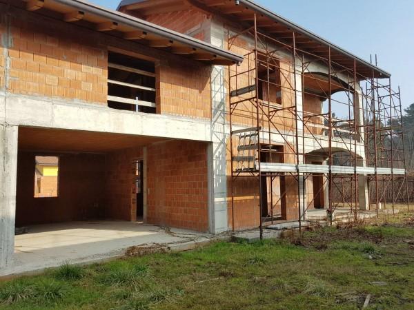 Villa in vendita a Carnago, Rovate, Con giardino, 181 mq - Foto 55