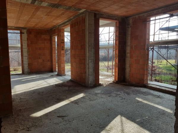 Villa in vendita a Carnago, Rovate, Con giardino, 181 mq - Foto 51