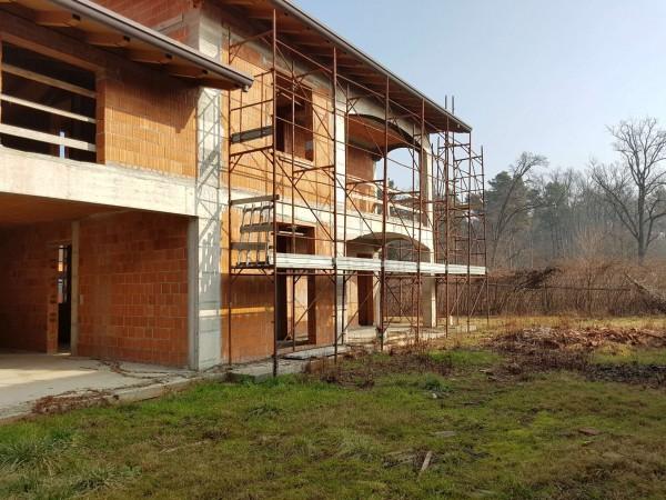 Villa in vendita a Carnago, Rovate, Con giardino, 181 mq - Foto 54