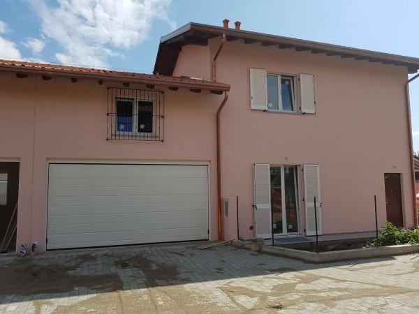 Villa in vendita a Carnago, Rovate, Con giardino, 181 mq