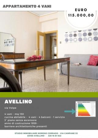 Appartamento in vendita a Avellino, Piazza Macello, 130 mq