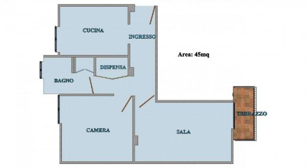 Appartamento in vendita a Santa Margherita Ligure, San Siro, Arredato, con giardino, 55 mq - Foto 2