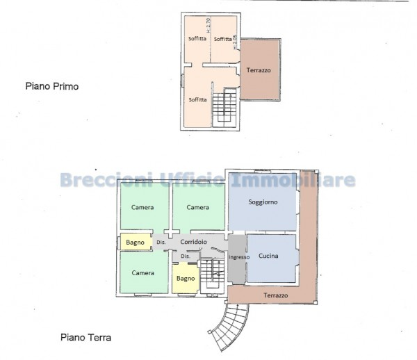 Villa in vendita a Trevi, Bovara, Con giardino, 300 mq - Foto 9