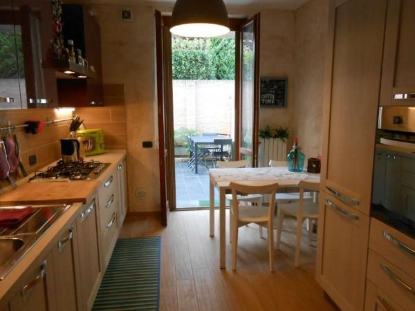 Appartamento in vendita a Casaletto Vaprio, Centrale, Con giardino, 100 mq - Foto 30
