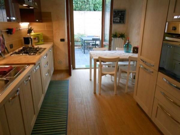 Appartamento in vendita a Casaletto Vaprio, Centrale, Con giardino, 100 mq - Foto 45