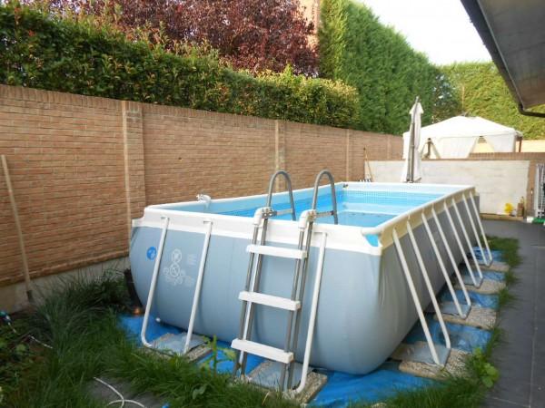 Appartamento in vendita a Casaletto Vaprio, Centrale, Con giardino, 100 mq - Foto 10