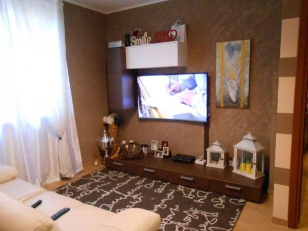 Appartamento in vendita a Casaletto Vaprio, Centrale, Con giardino, 100 mq - Foto 1