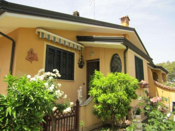 Villa in vendita a Roma, Corcolle, Con giardino, 130 mq