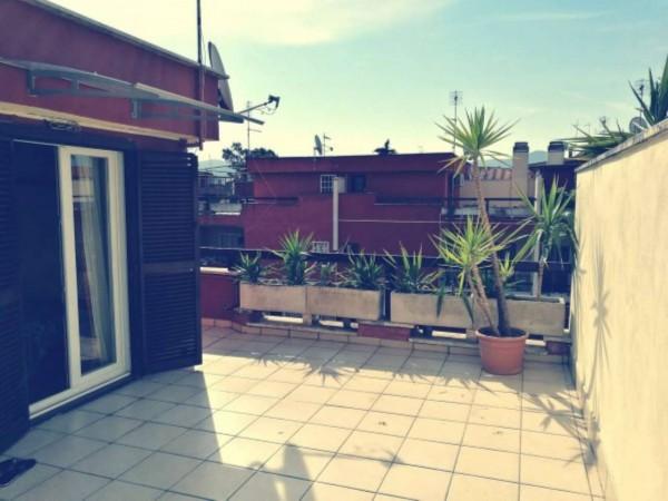 Villetta a schiera in vendita a Roma, Morena, Arredato, con giardino, 140 mq - Foto 11