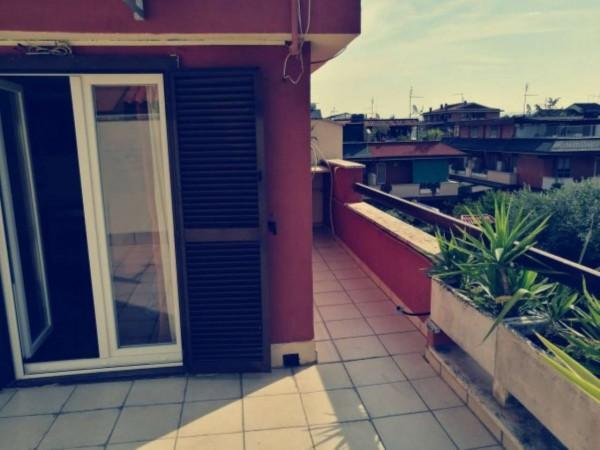 Villetta a schiera in vendita a Roma, Morena, Arredato, con giardino, 140 mq - Foto 9
